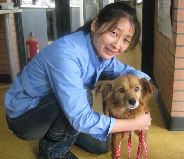 colette with vet center staff